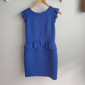 SANDRO blue sheath dress S